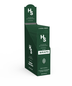 קונוסים מוכנים מהמפ | Higher Standards Wrap